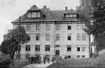Академічний дім, збудований Товариством у 1905 р. Львів, вул. Супінського, 17 (тепер — Коцюбинського, 21)