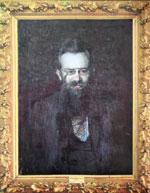 Михайло Грушевський. Портрет роботи І.Труша