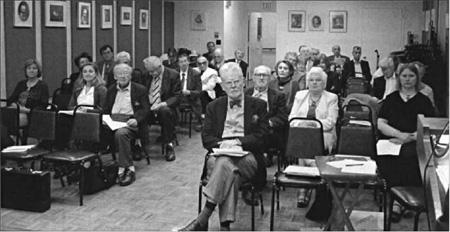 У лекційній залі НТШ в Америці. 19 травня 2012 р.
