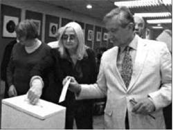 Під час голосування