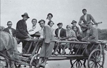 Український театр Юрія Кононева під час одного із переїздів, 1935 р. (публікується вперше)