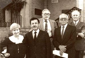 Члени управи НТШ в Австралії. 1985 р.