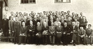 Відновлювальний науковий з'їзд НТШ в Міттенвальді. 18 вересня 1947 р.