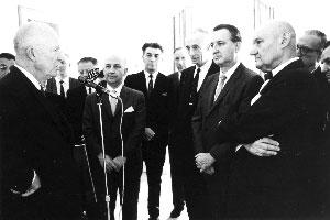 Зустріч президента США Д.Айзенгауера з діячами НТШ в Америці. 1965 р.